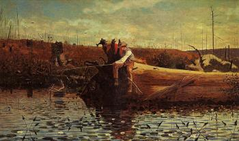 Winslow Homer : Waiting for a Bite