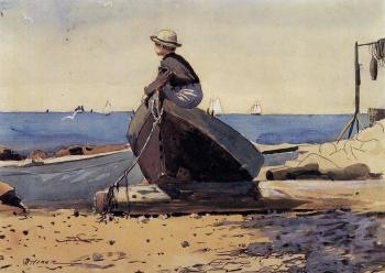 Winslow Homer : Waiting for Dad