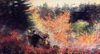 Winslow Homer : Woods at Prout's Neck