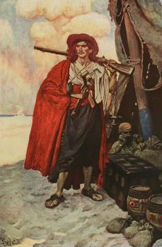 Howard Pyle : The Buccaneer was a Picturesque Fellow