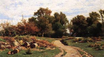 Hugh Bolton Jones : A Country Path in Summer