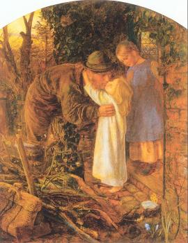 Arthur Hughes : Home from Work