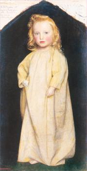 Arthur Hughes : Edward Robert Hughes as a Child