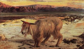 William Holman Hunt : The Scapegoat