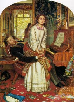 William Holman Hunt : The Awakening Conscience