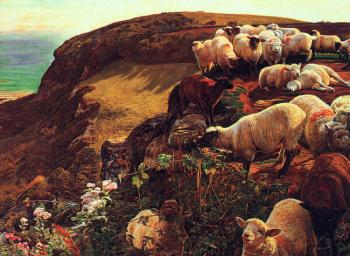 William Holman Hunt : On English Coasts