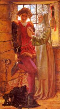 William Holman Hunt : Claudio And Isabella
