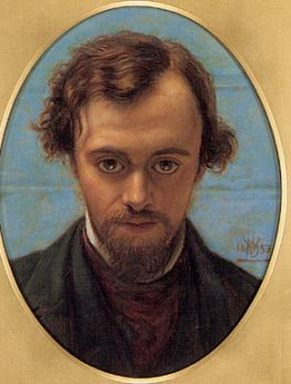 William Holman Hunt : Dante Gabriel Rossetti