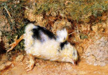 William Holman Hunt : John Ruskin's dead chick