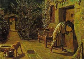 William Holman Hunt : The Importunate Neighbour