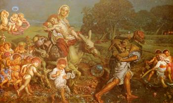William Holman Hunt : The Triumph Of The Innocents