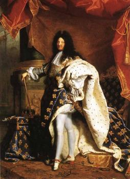 Hyacinthe Rigaud : Portrait Of Louis XIV