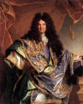 Hyacinthe Rigaud : Portrait Of Phillippe De Courcillon