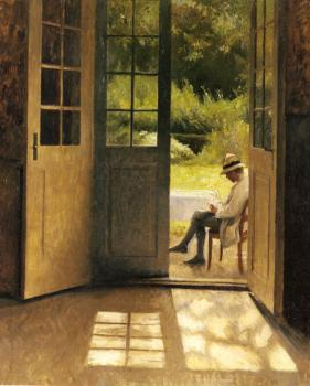 Peter Ilsted : The Open Door