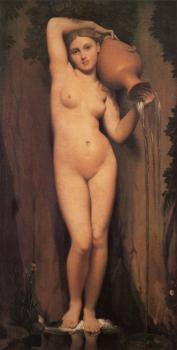 Jean Auguste Dominique Ingres : La Source