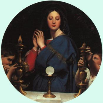 Jean Auguste Dominique Ingres : Ingres the virgin of the host