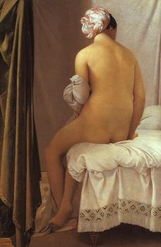 Jean Auguste Dominique Ingres : Bather of Valpincon