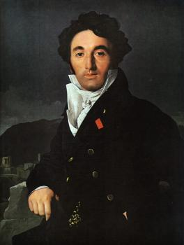 Jean Auguste Dominique Ingres : Portrait of Charles-Joseph-Laurent Cordier