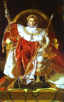 Jean Auguste Dominique Ingres : Napoleon I on His Imperial Throne