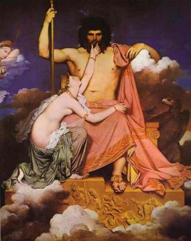 Jean Auguste Dominique Ingres : Jupiter and Thetis