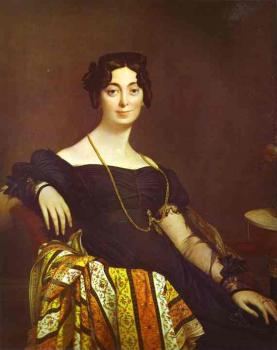 Jean Auguste Dominique Ingres : Madame Jacques-Louis Leblanc