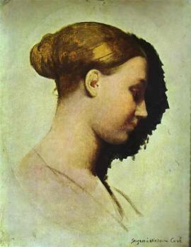 Jean Auguste Dominique Ingres : Madame Clement Boulanger