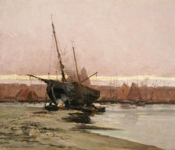 Ioannis Altamouras : Boat at the beach