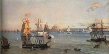 Ioannis Altamouras : Sea battle at the bay of patrae