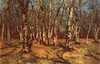 Ion Andreescu : Beech forest