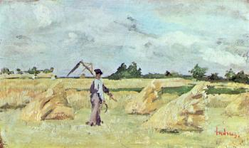 Ion Andreescu : Haymaking