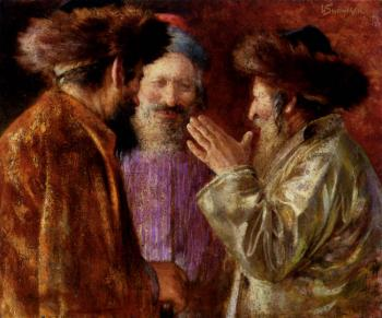 Three Rabbis Of Jerusalem
