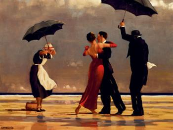 Jack Vettriano : The Singing Butler