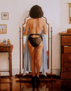 Jack Vettriano : The Blue Gown