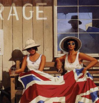 Jack Vettriano : The British Are Coming