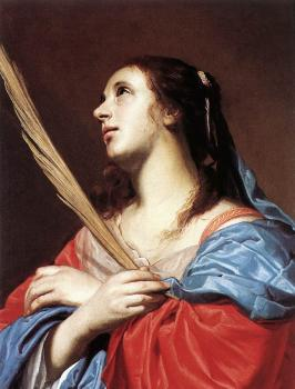 Jacob Van Oost The Elder : Female Martyr