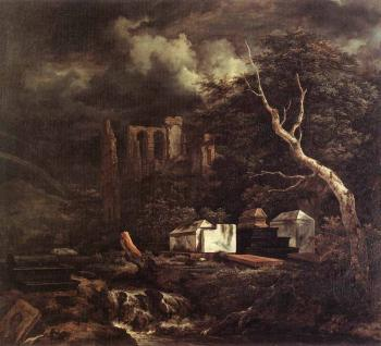 Jacob Van Ruisdael : The Jewish Cemetary