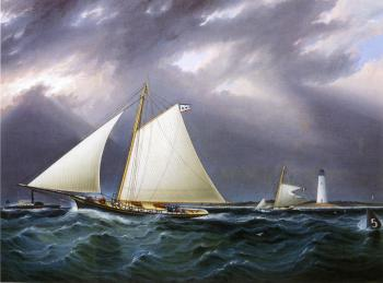 The Match between the Yachts Vision and Meta, Rough Weather