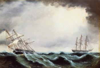 Two Clipper Ships