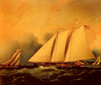 James E Buttersworth : Under Full Sail