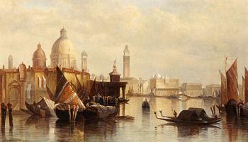 James Holland : A View Of Venice