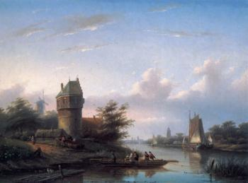 Jan Jacob Coenraad Spohler : The Ferry