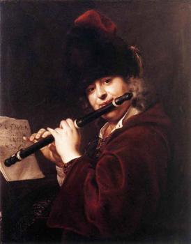 Jan Kupecky : Portrait Of The Court Musician Josef Lemberger