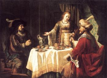 The Banquet Of Esther And Ahasuerus