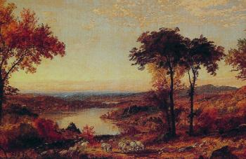 Jasper Francis Cropsey : Wyoming Valley Pennsylvania