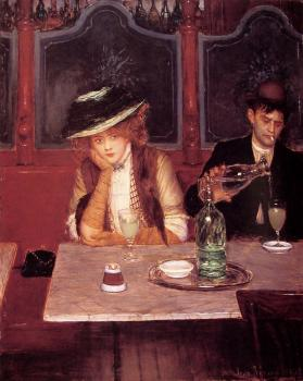 Jean Beraud : The drinkers