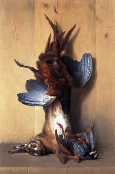 Jean-Baptiste Oudry : Still Life With Pheasant