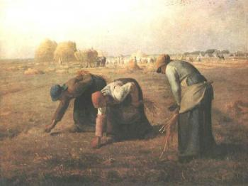 Jean-Francois Millet : The Gleaners