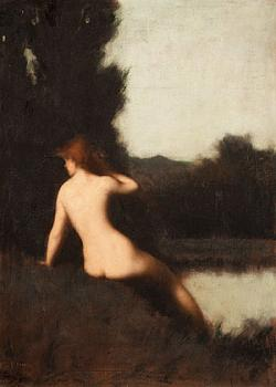 Jean-Jacques Henner : a bather
