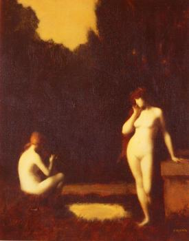 Jean-Jacques Henner : Idyll