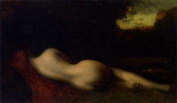 Jean-Jacques Henner : Nude